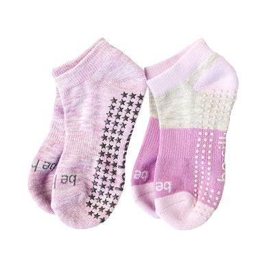 NEW Kids 2 Pack Grip Socks 4T-6T (Bree)