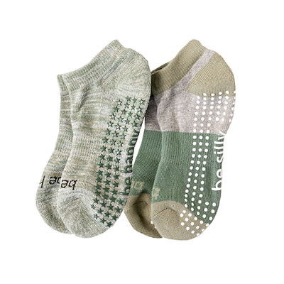 NEW Kids 2 Pack Grip Socks 4T-6T (Blake)
