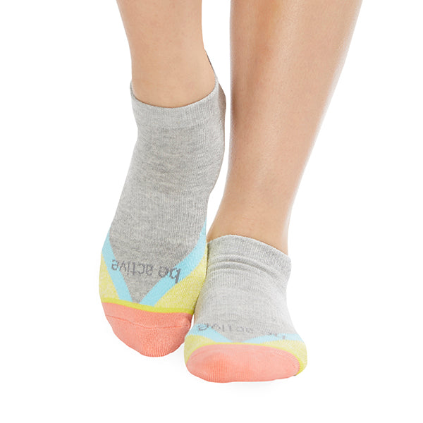NEW Be Active Delilah Grip Socks (Sorbet)