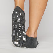 Be Cozy Grip Socks (Charcoal)