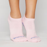Be Fearless Grip Socks (sweet pink/royal)