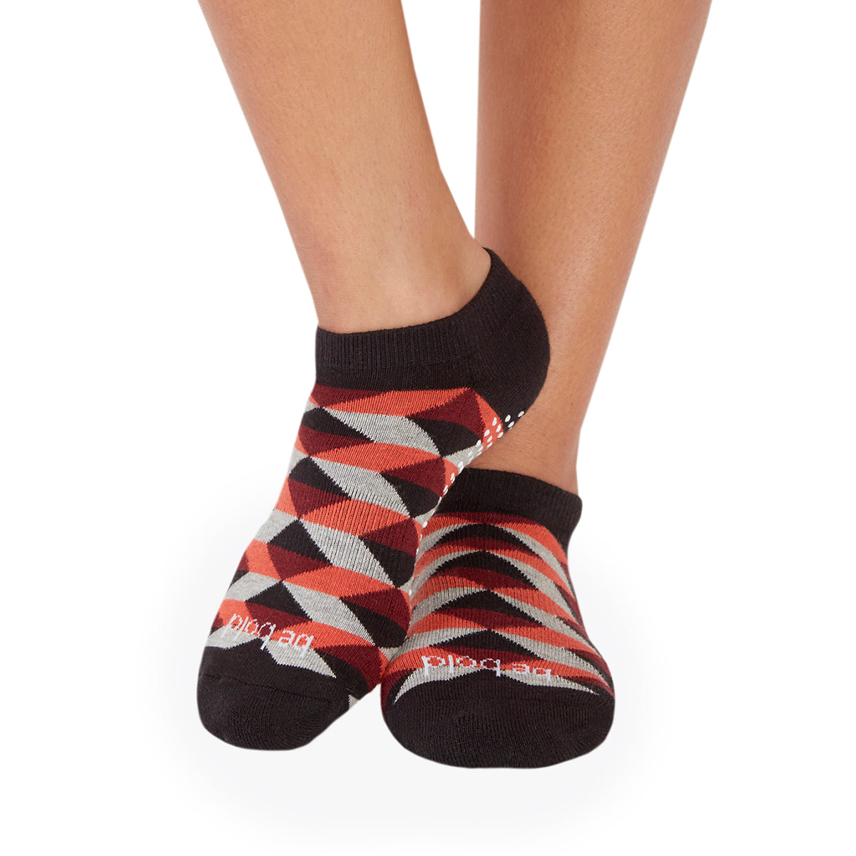 SALE Be Bold Bella Diamond Grip Socks (Sunset)