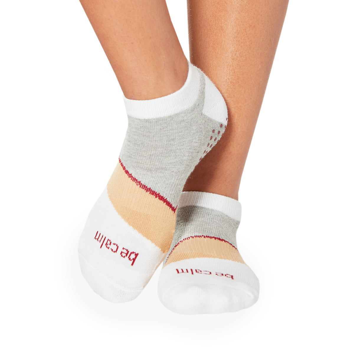 SALE Be Calm Althea Grip Socks (Sand)