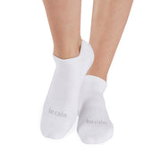 Be Calm Grip Socks (White/Slate)