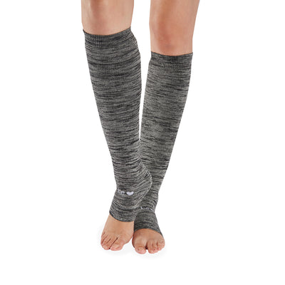 Be Love Marbled Grip Leg Warmers (Ash)