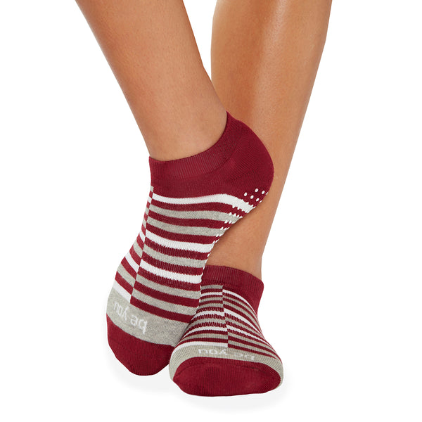 Be You Rio Grip Socks (Merlot)