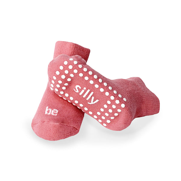Be Silly Baby Socks (Strawberry)