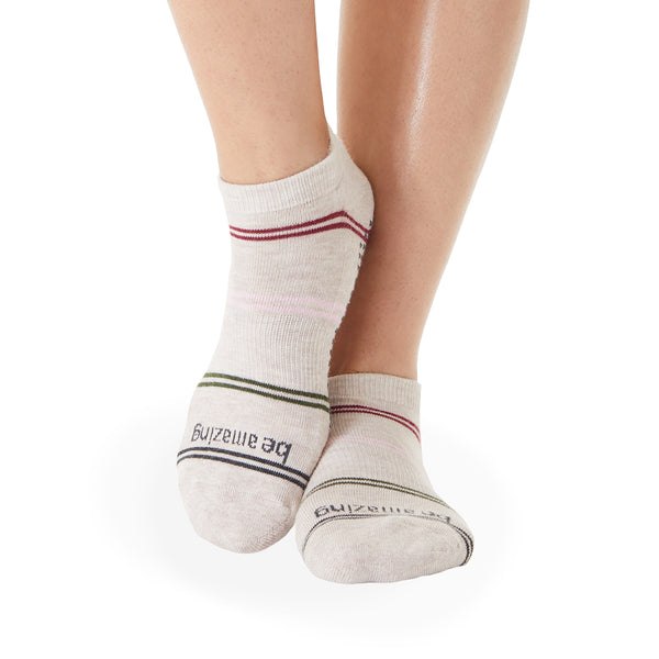 Be Amazing Harper Grip Socks (Quartz)