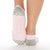 NEW Be Brave Breast Cancer Grip Socks (Grey/Pink)