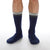 NEW MENS CREW Be Chill Grip Socks (Navy/Charcoal)