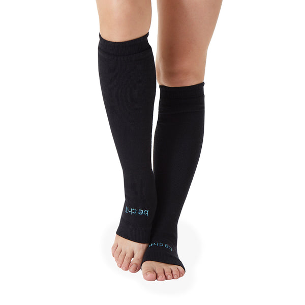 Be Chill Grip Leg Warmers (Charcoal/Aqua)