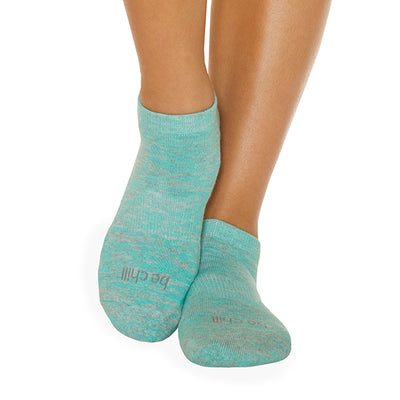 Be Chill Marbled Grip Socks (Willow)