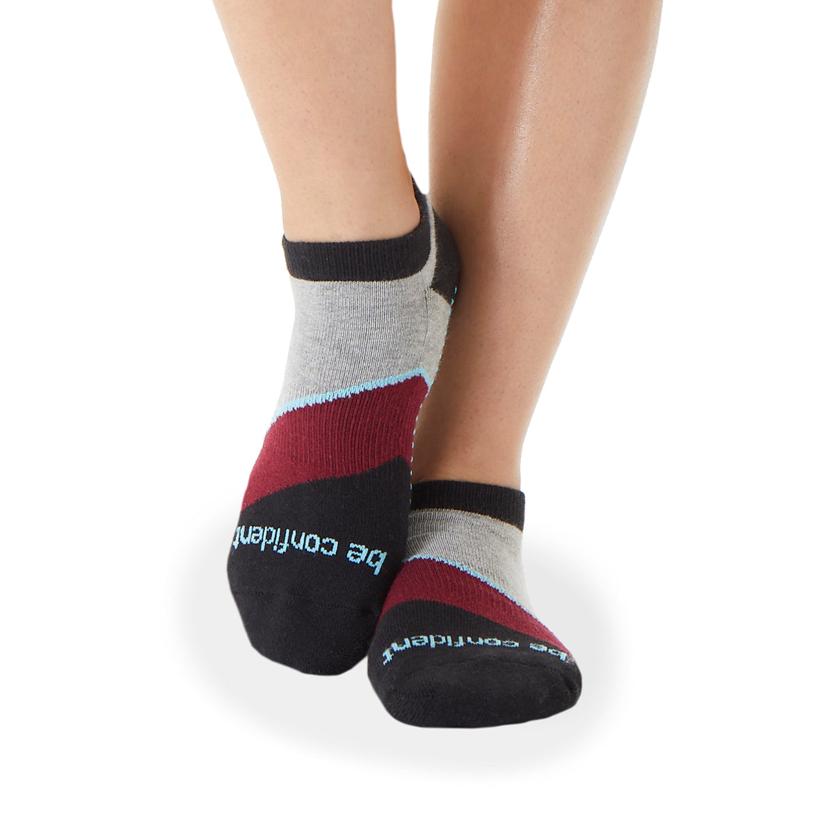 Be Confident Althea Grip Socks (Havana)