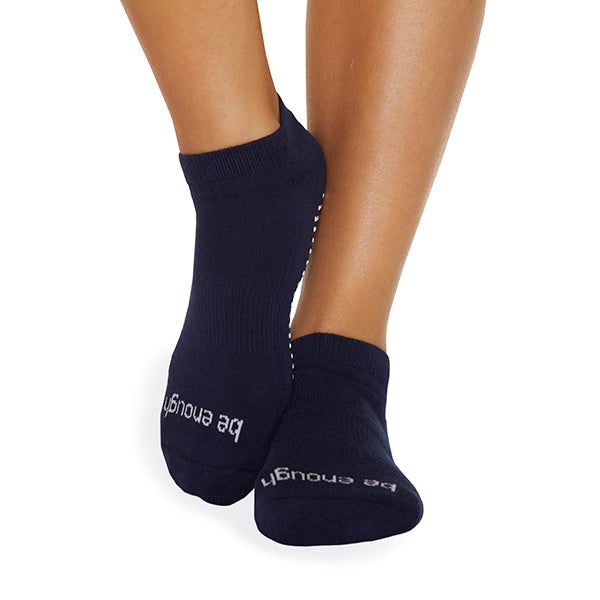 Be Enough Grip Socks (Navy/White)