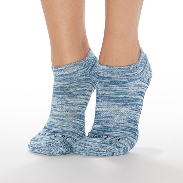 SALE Be Fearless Marbled Grip Socks (Mist)