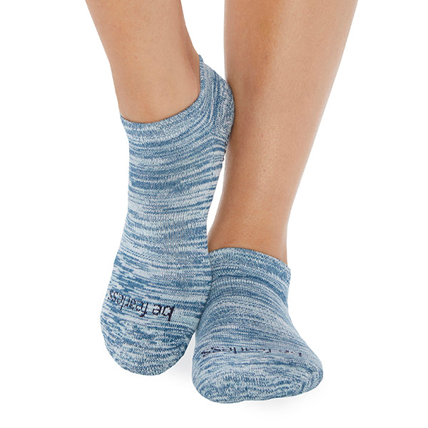 NEW Be Fearless Marbled Grip Socks (Mist)