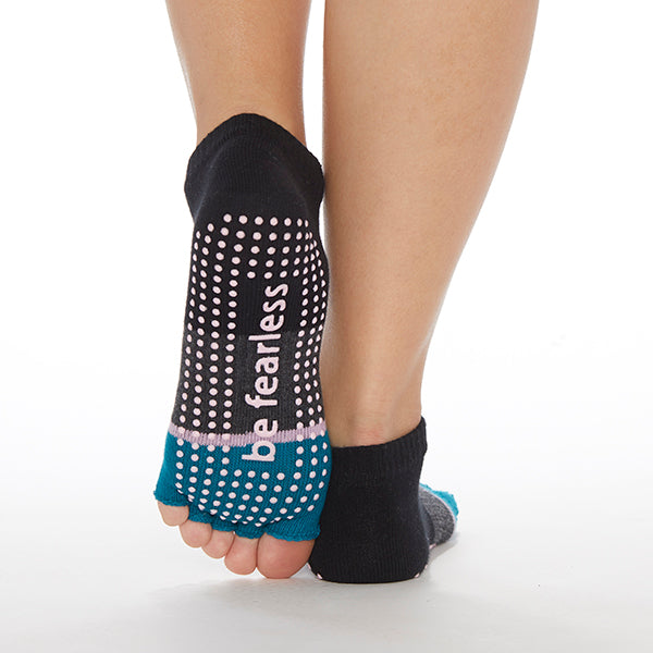 NEW HALF TOE Be Fearless Elle Grip Socks (Capri)
