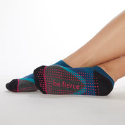 Be Fierce Frankie Grip Socks (Wicked)
