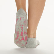 Be Focused Grip Socks (Heather/Dust)