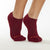 SALE Be Grateful Grip Socks (Burgundy/Tangerine)