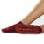 Be Grateful Grip Socks (Burgundy/Tangerine)