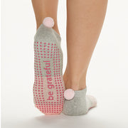 POM POM Be Grateful Grip Socks (Paris)