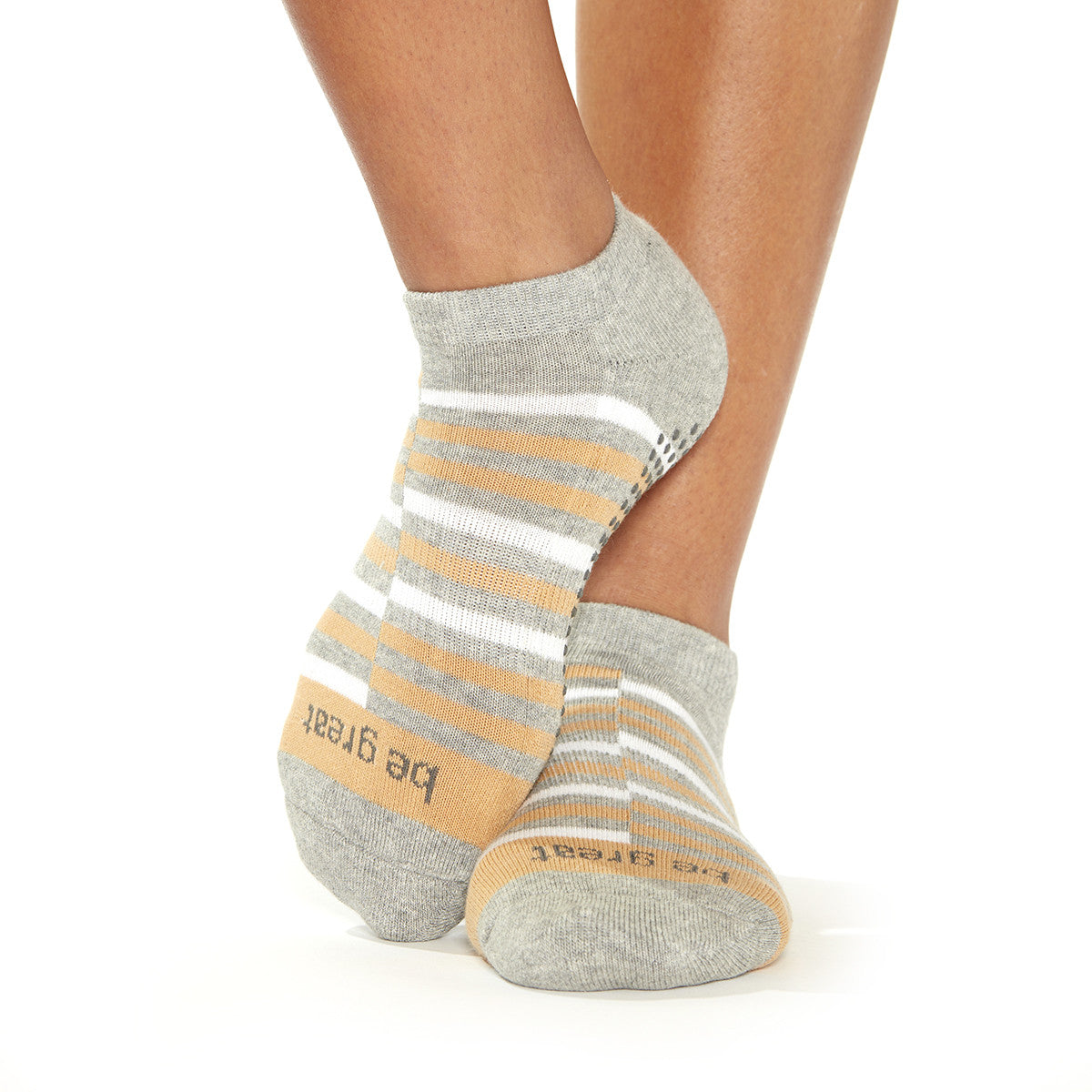 SALE Be Great Rio Grip Socks (Dune)