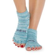 HALF TOE Be Great Grip Socks (Mist)