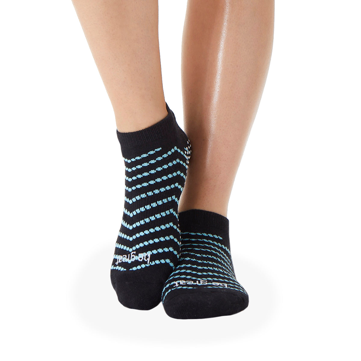 Be Great Elena Grip Socks (Topaz)