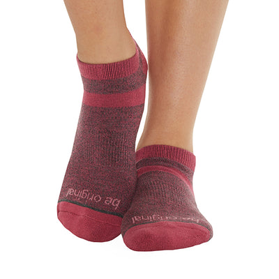 Be Original Olivia Grip Socks (Port)