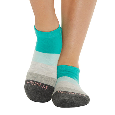 Be Patient Marlowe Grip Socks (Palm)