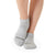 Be Patient Grip Socks (Heather Grey/Hunter)
