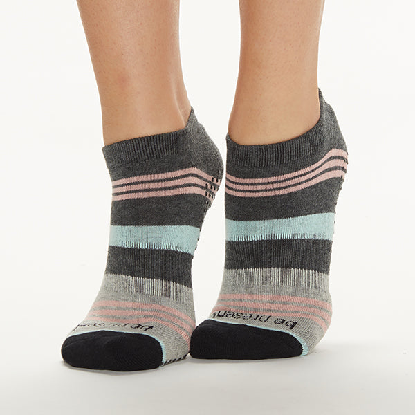 Be Present Mia Grip Socks (Peacock)