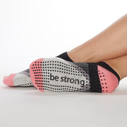 Be Strong Frankie Grip Socks (Halo)
