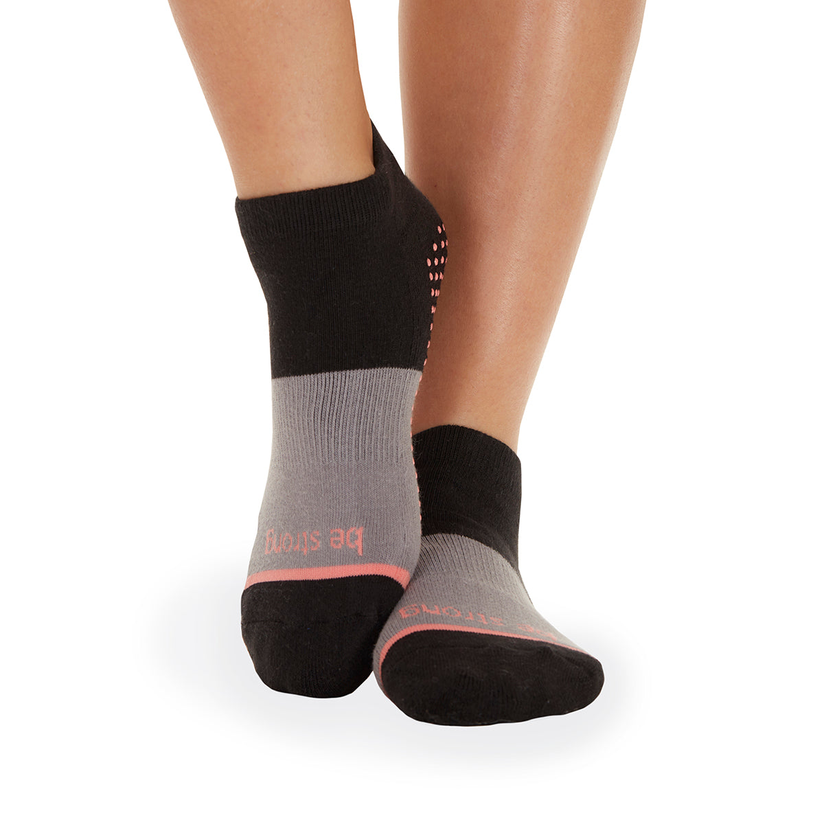 NEW! Be Strong Grace Grip Socks (Tango)
