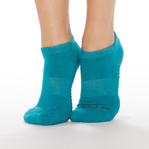 NEW Be Thankful Grip Socks (Ocean/Navy)