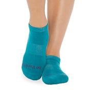 Be Thankful Grip Socks (Ocean/Navy)