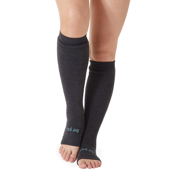 Be You Grip Leg Warmers (Black/Grey)