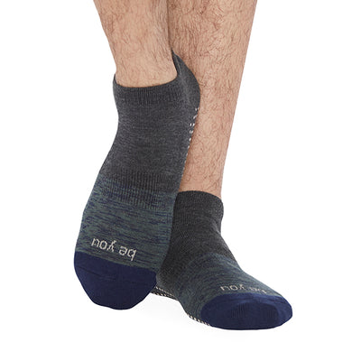 NEW MENS Be You James Grip Socks (Empire)