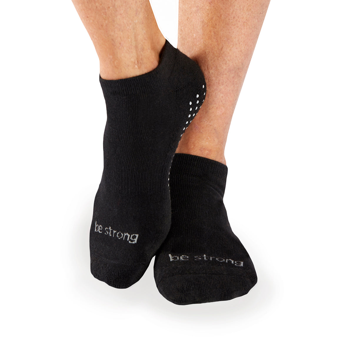 MENS Be Strong Grip Socks (Black/Slate)