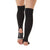 Be Strong Stirrup Grip Leg Warmers (Black/Light Grey)