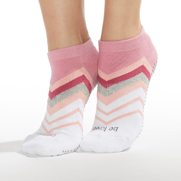 Be Love Maxine Grip Socks (Casablanca)