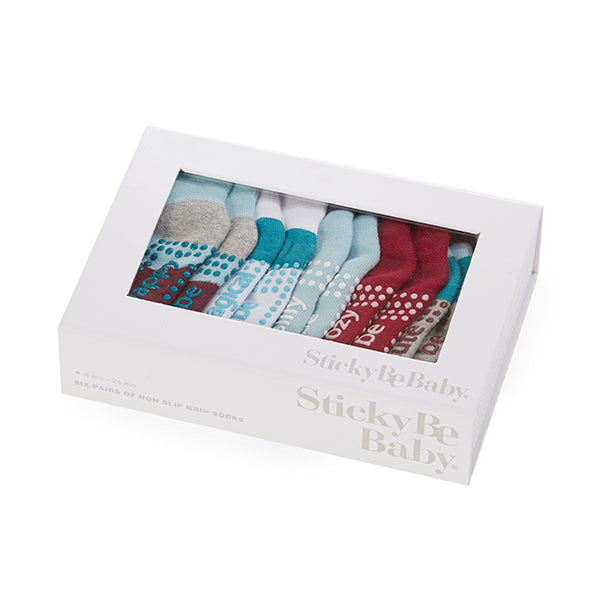 Baby Holiday Box 6 Pack (Snow)