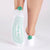 POM POM Be Bright Grip Socks (White/Seafoam)