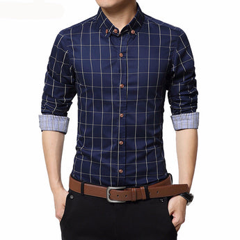 Men's Shirt with Long Sleeves - Men's style boutique