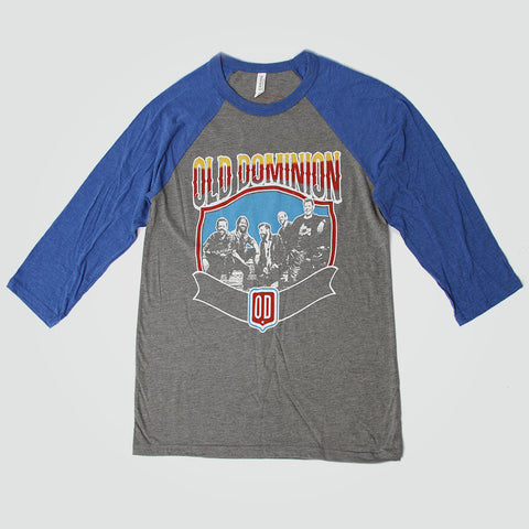 Old Dominion Band Baseball Tee