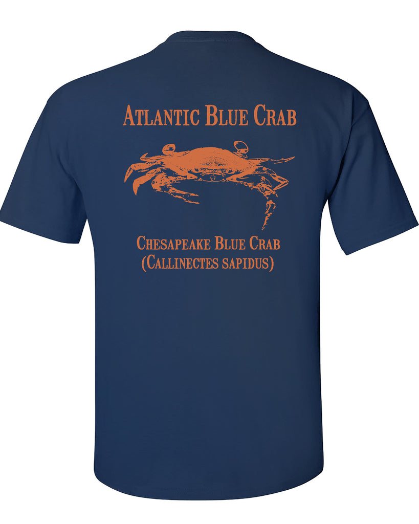 MBO Navy And Orange Blue Crab