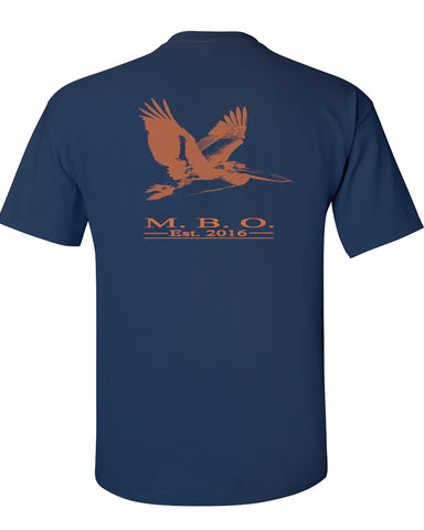 MBO Navy And Orange Pelican