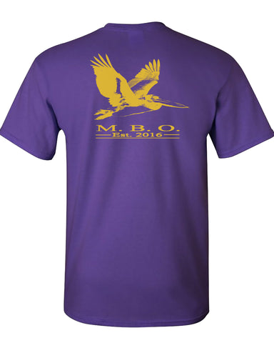 MBO Purple And Gold Pelican