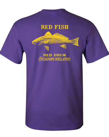 MBO Purple And Gold Red Fish